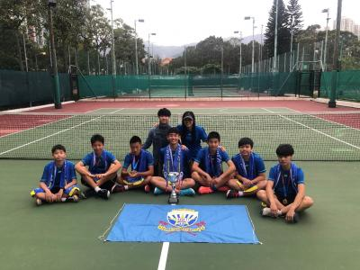 New Territories Secondary Schools Tennis Competition – Boys Champion