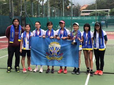 New Territories Secondary Schools Tennis Competition – Girls Champion